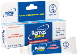 Mentholatum Remos Anti-Itch<br> Thuốc chống ngứa